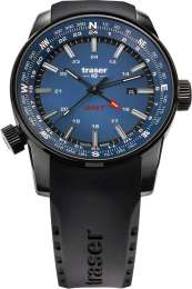 Часы Traser P68 Pathfinder GMT Blue каучук 109743
